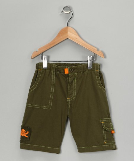 Olive Wader Shorts - Infant & Boys