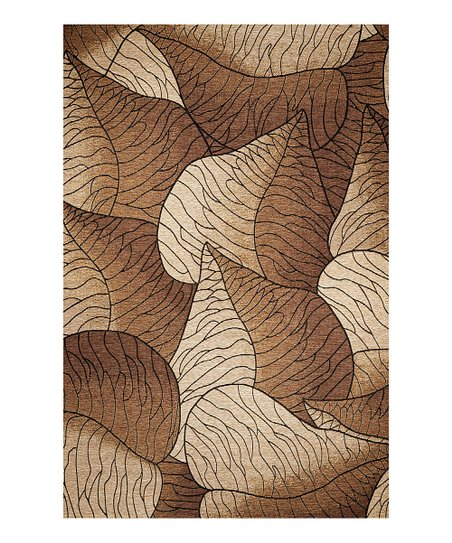 Beige Fauna Indoor/Outdoor Rug