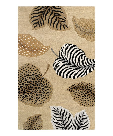 Beige Jungle Air Sahara Rug