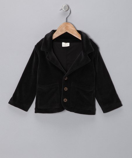 Black Organic Blazer - Infant, Toddler & Boys