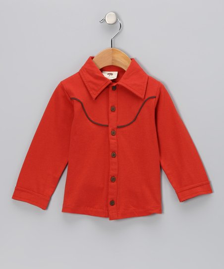 Amber Urban Cowboy Organic Button-Up - Infant & Boys