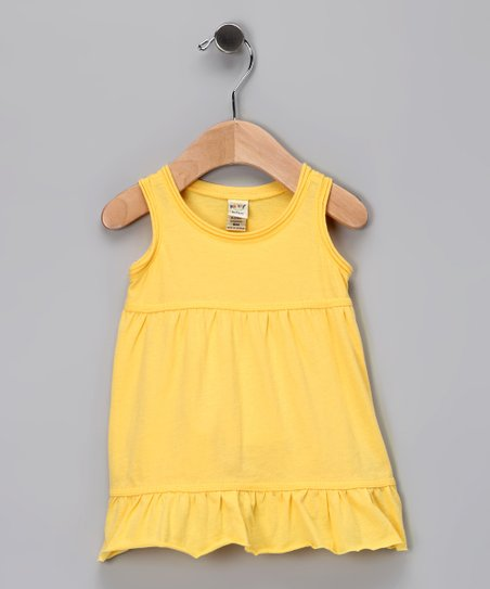 Yellow Ruffle Dress - Infant, Toddler &amp; Girls