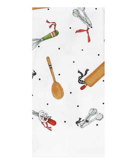Cook With Love Flour Sack Towel - Set of Two