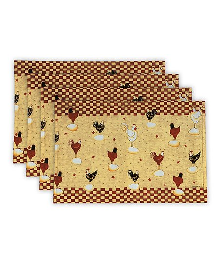 Rise & Shine Place Mat - Set of Four