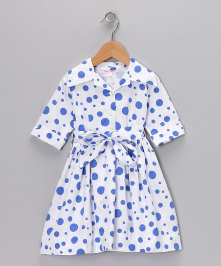 Blue Party Andrea Dress - Infant, Toddler & Girls