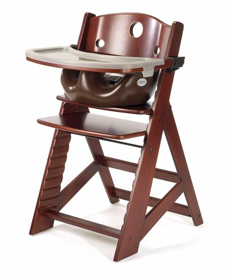 Keekaroo Mahogany & Chocolate Right Height High Chair