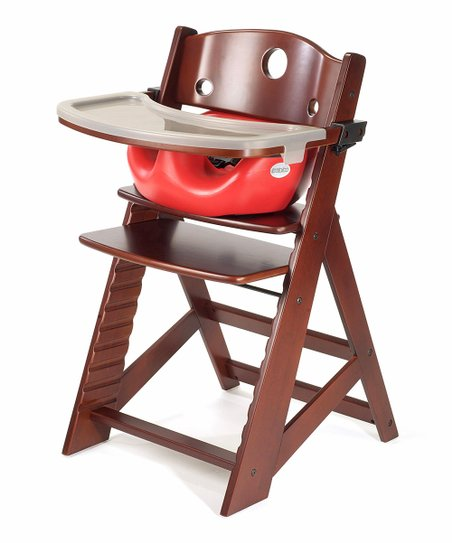 Keekaroo Mahogany & Cherry Right Height High Chair