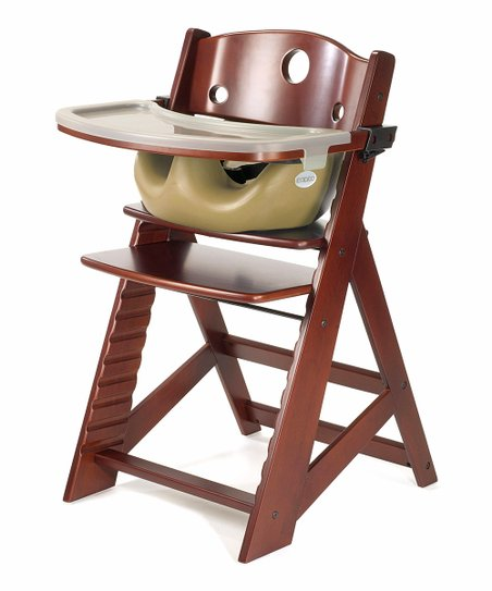 Keekaroo Mahogany & Latte Right Height High Chair