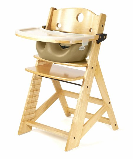 Keekaroo Natural &amp; Latte Right Height High Chair