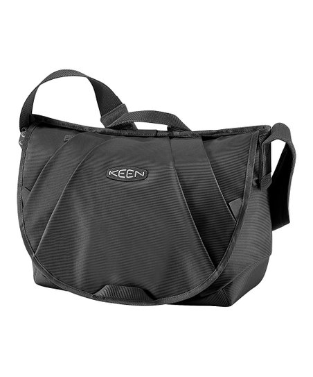 Smoke Black & Black Caitlin 20-L. Computer Messenger Bag