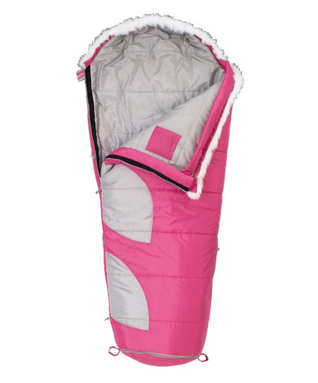 Pink & Gray Big Dipper Sleeping Bag