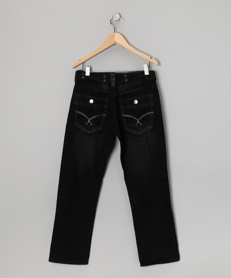 Black Fashion Jeans - Boys