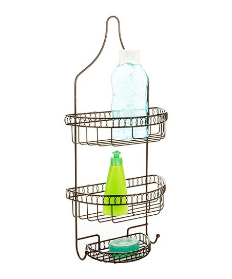 Rust Curls Shower Caddy