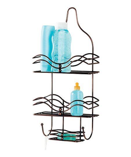 Rust Ocean Waves Shower Caddy