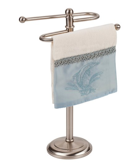 Silver Hand Towel Holder