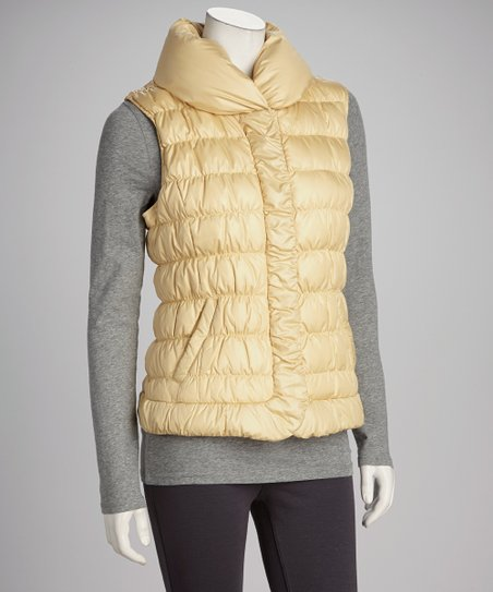 Sunflower Puffer Vest