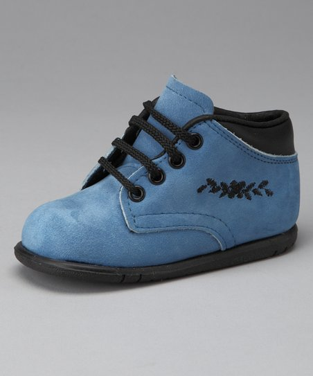 Washed Blue Blazer Shoe