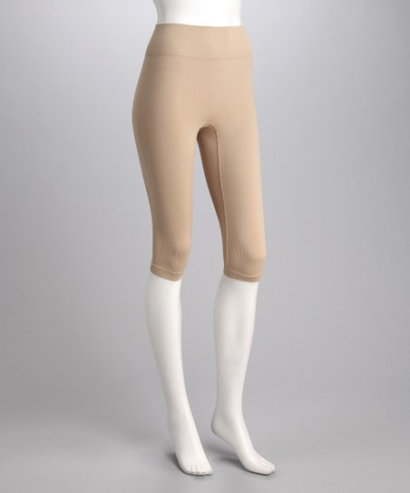 Nude Slender Riding Capri Breeches - Women
