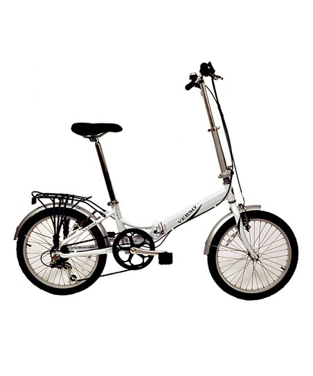 White Cologne Folding Bike