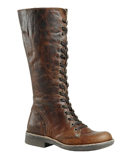 Light Brown Rocking Boot - Women