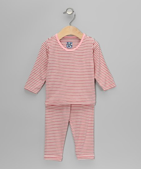 Natural Stripe Pajama Set - Infant, Toddler & Kids