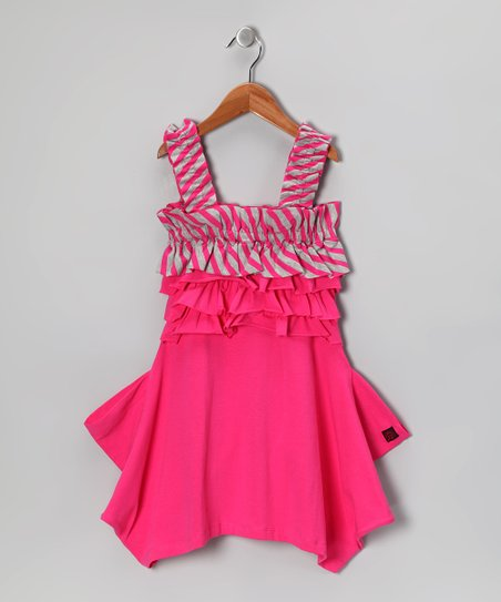 Raspberry Melinda Dress - Toddler & Girls