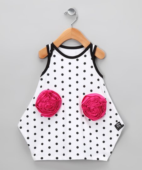 White Azalea Dress - Infant & Toddler