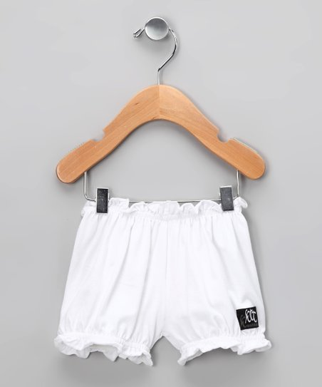 White Flower Bloomers - Infant