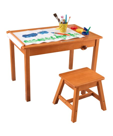 Art Table &amp; Stool Set