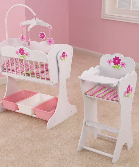 Floral Fantasy Doll Furniture Set