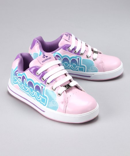 Pink 'Be Cool' Sneaker