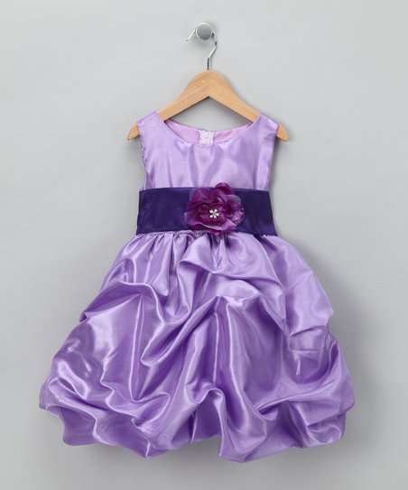 Lilac Fancy Bon Bon Dress - Infant, Toddler &amp; Girls