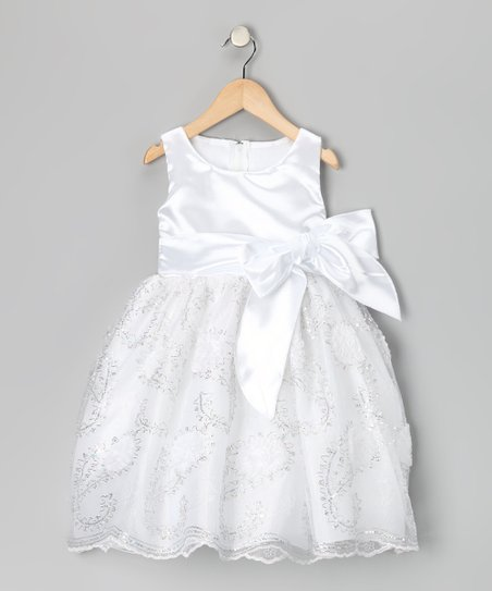 Ivory Paisley Dress - Infant, Toddler & Girls