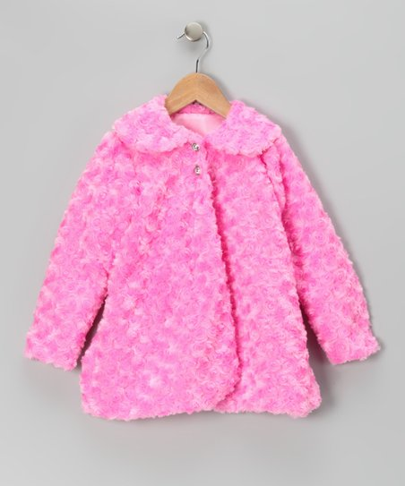 Pink Minky Jacket - Infant, Toddler & Girls