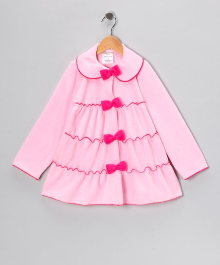 Pink Tiered Jacket - Infant, Toddler & Girls