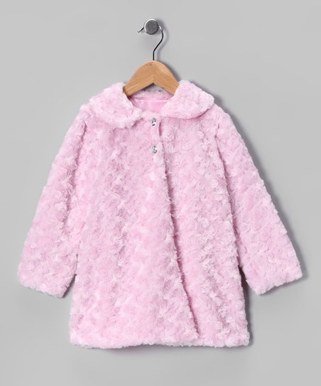 Pink Minky Swirl Jacket - Infant, Toddler &amp; Girls