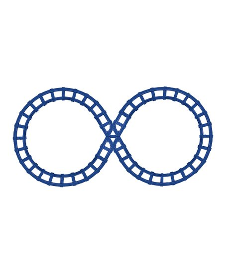 Blue Talking Train Figure Eight Track Set