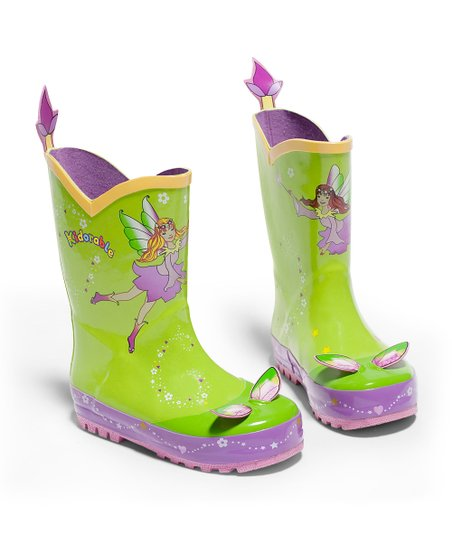 Green Fairy Rain Boot