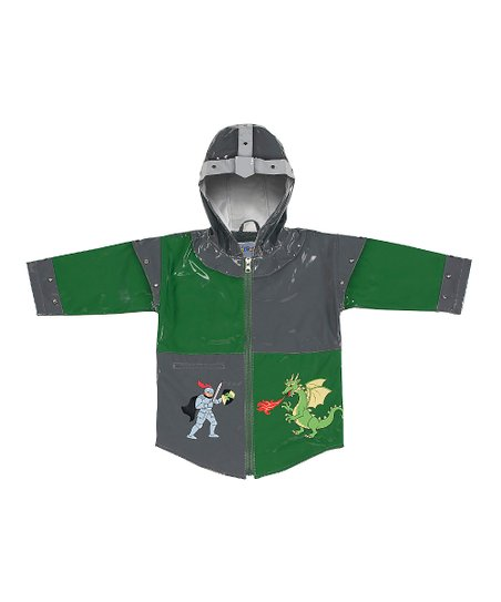 Gray Knight Raincoat - Infant, Toddler & Kids