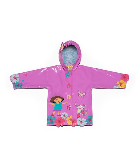 Pink Dora the Explorer Raincoat - Infant, Toddler & Kids