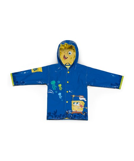 Blue SpongeBob Raincoat - Infant, Toddler &amp; Kids