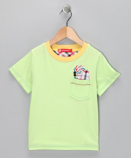 Lime Pocket Tee - Infant, Toddler & Boys