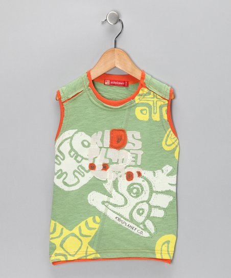 Green Jungle Tank - Toddler & Boys