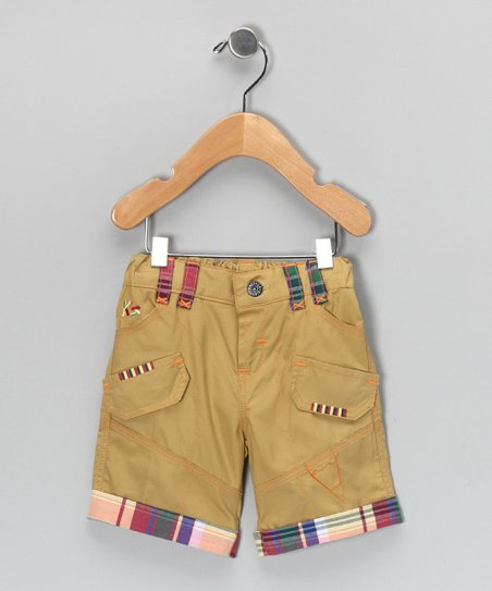 Khaki Utility Shorts - Infant & Boys
