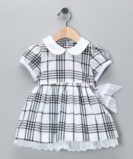 Black Plaid Dress - Infant, Toddler & Girls