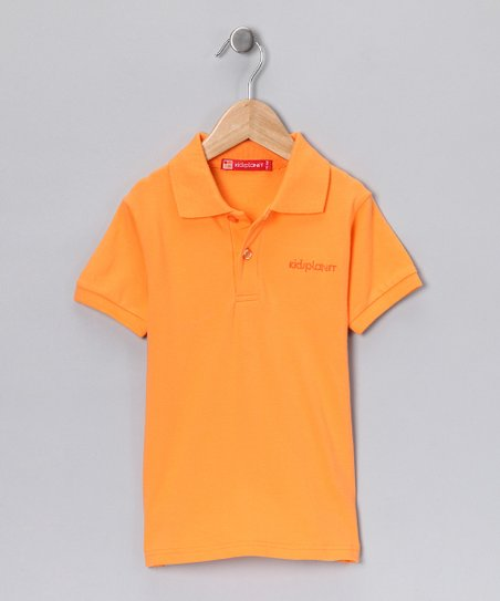Orange Polo - Toddler & Boys