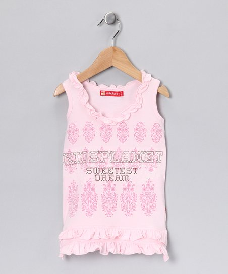 Pink 'Sweetest Dream' Tank - Toddler & Girls