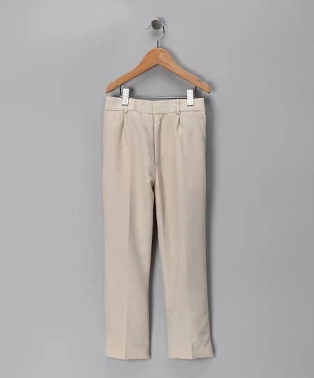 Beige Pants - Toddler & Boys