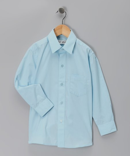 Blue Button-Up - Toddler & Boys