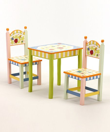 Bugaboo Table & Chair Set